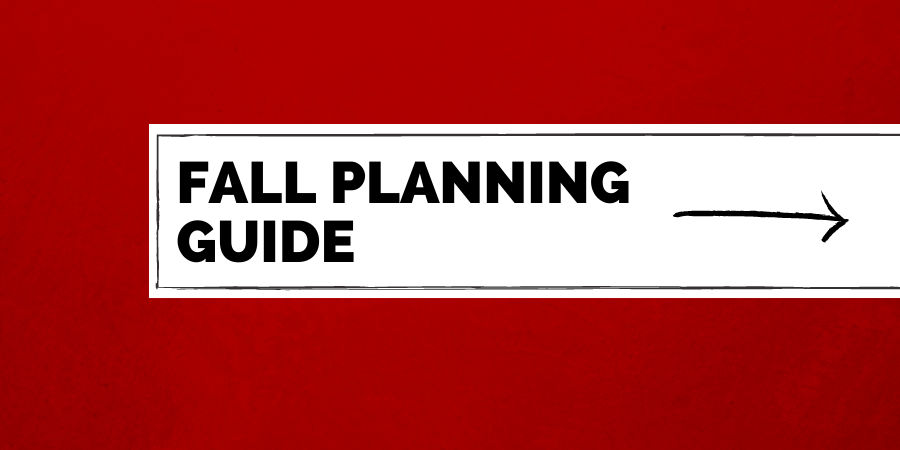 fall planning guide