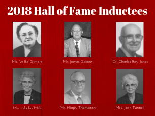 Nominations for the 2019 Faculty & Staff Hall of Fame class are being accepted during the month of November.