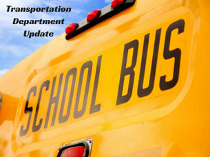 Transportation Department Update